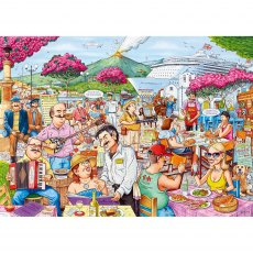 Ravensburger 1000 Piece Puzzle - Best of British - The Cruise Ship