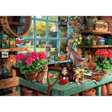 Ravensburger 1000 Piece Puzzle - Is He Watching?