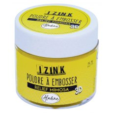 Izink Embossing Powder - Relief  Mimosa