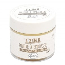 Izink Embossing Powder - Clear High