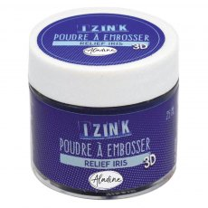 Izink Embossing Powder - Relief Iris