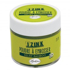 Izink Embossing Powder - Relief Bamboo