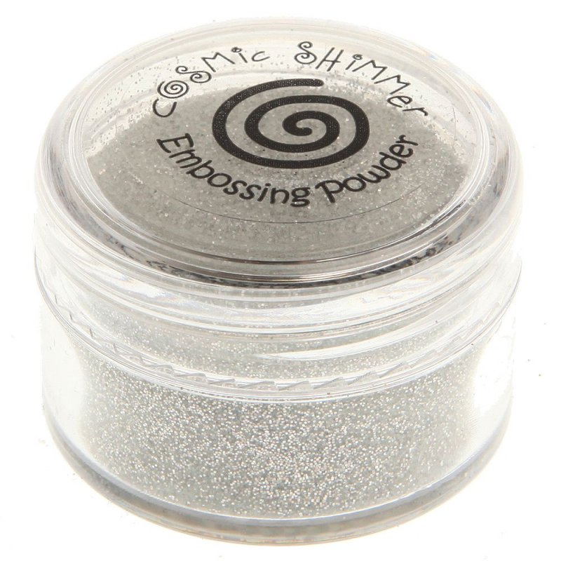 Creative Expressions Cosmic Shimmer Brilliant Sparkle Embossing Powder - Clear Mirage