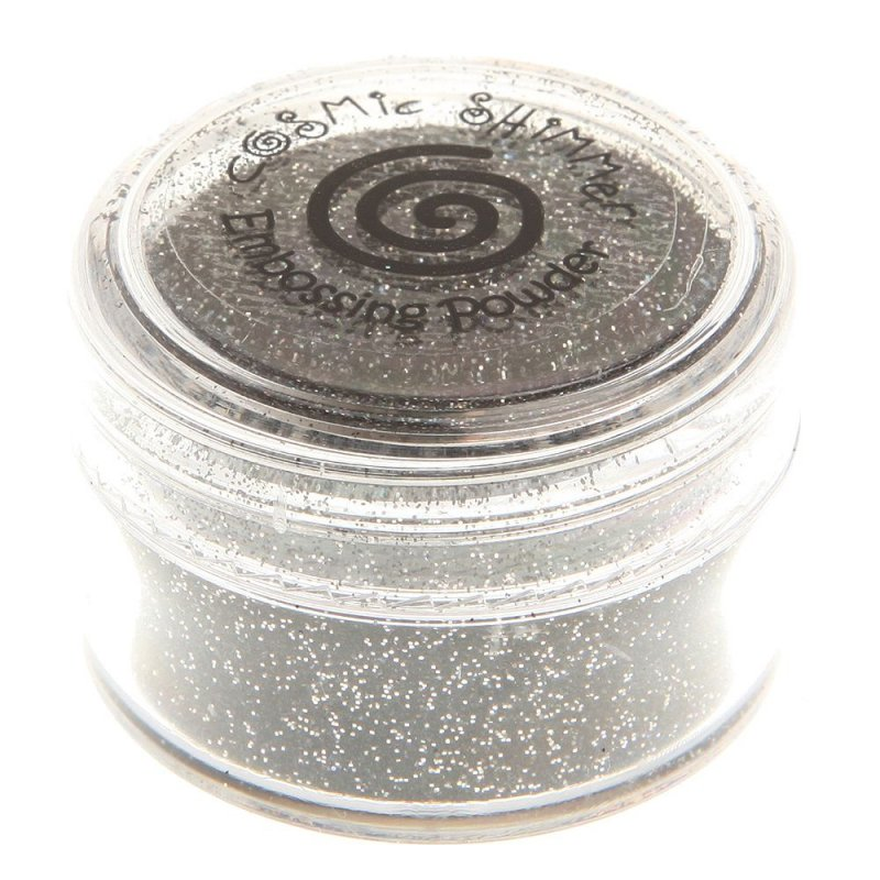 Creative Expressions Cosmic Shimmer Brilliant Sparkle Embossing Powder - Black  Mirage